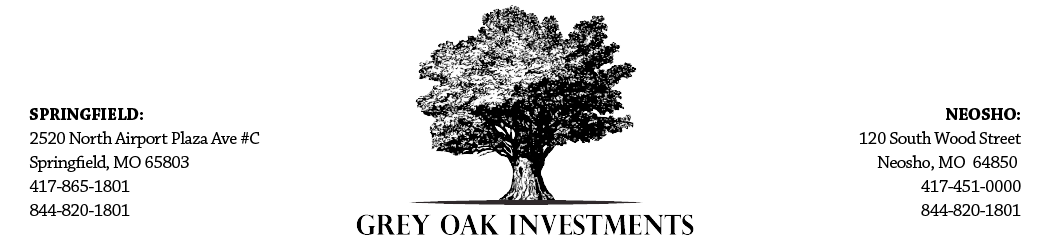 Grey Oak Investments